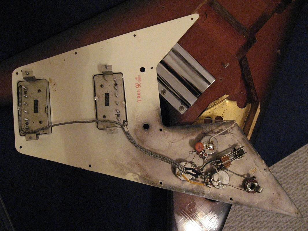 Gibson Flying V Wiring Diagram Guide And Troubleshooting Of Fender Guitar Schematics Details Parts The 1967 1971 Website